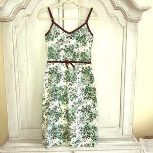 Odille Floral Dress - Sz. 4. Adjustable Straps